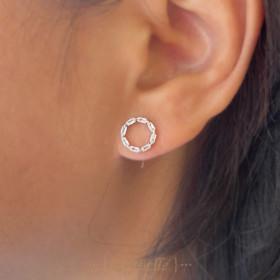 Aurore ear studs
